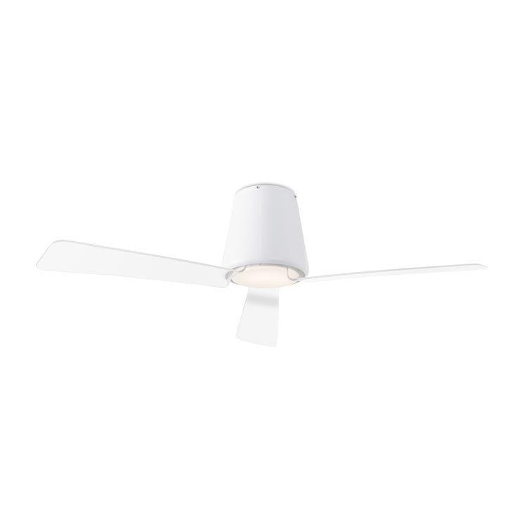 ventilador luz garbi blanco