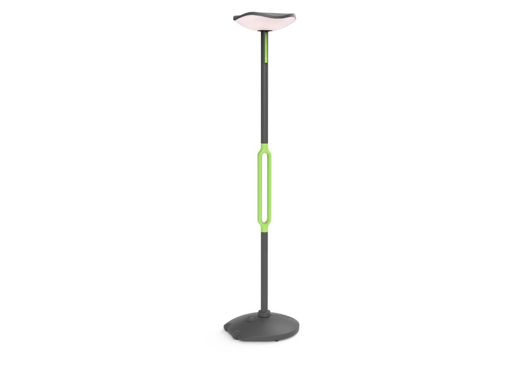 lámpara de pie solar Poppy