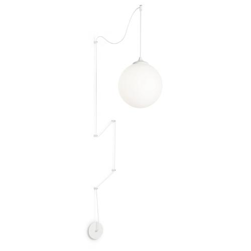 Lámpara punto desplazado Boa blanco