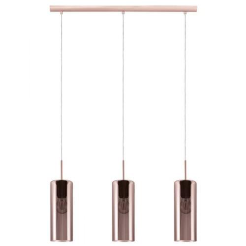 Lámpara de techo Selvino cobre